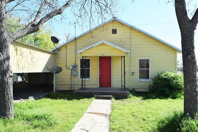 213 W 14th Street, Coleman, TX 76834 (MLS #14313948) :: RE/MAX Landmark