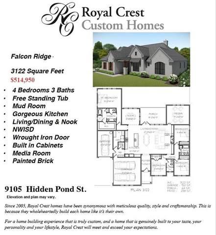 9105 Hidden Pond Street, New Fairview, TX 76247 (MLS #14313997) :: All Cities USA Realty