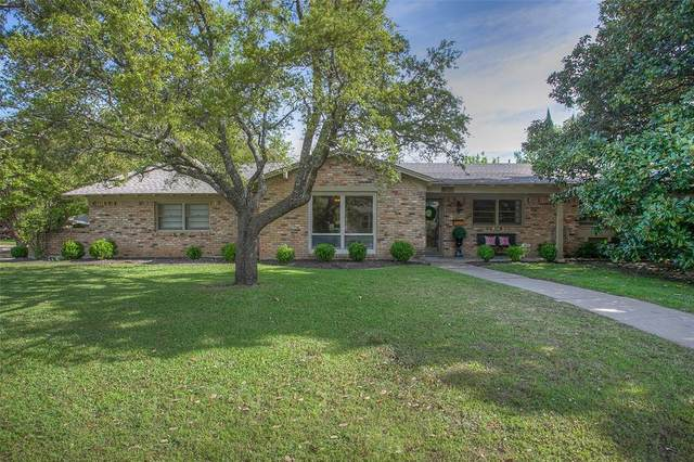 4308 Lanark Avenue, Fort Worth, TX 76109 (MLS #14314188) :: The Mitchell Group
