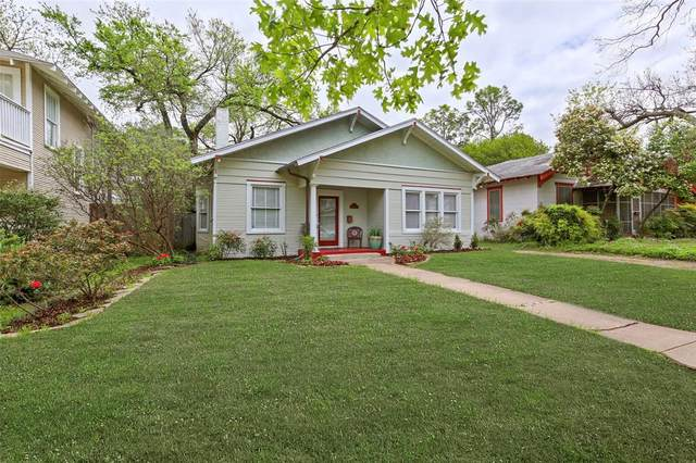 114 S Montclair Avenue, Dallas, TX 75208 (MLS #14314398) :: All Cities USA Realty