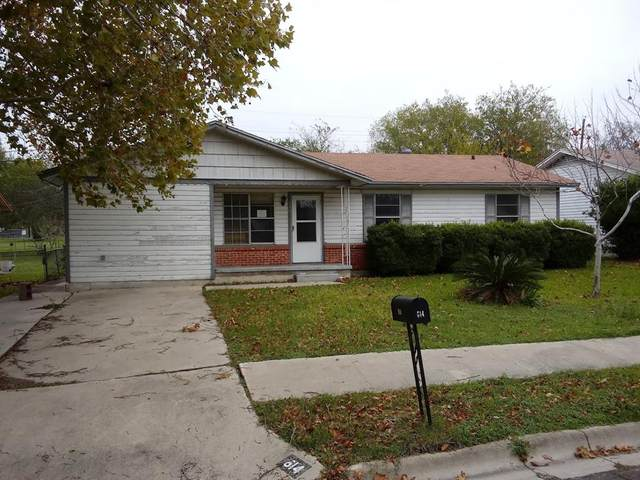 614 W Avenue E, Copperas Cove, TX 76522 (MLS #14314696) :: RE/MAX Pinnacle Group REALTORS
