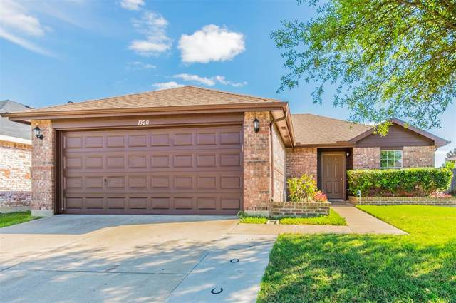 1320 Castle Ridge Road, Fort Worth, TX 76140 (MLS #14314926) :: All Cities USA Realty