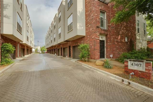 4307 Mckinney Avenue #3, Dallas, TX 75205 (MLS #14314938) :: The Mitchell Group