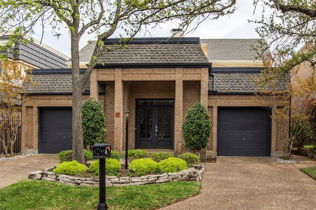 30 Crown Place, Richardson, TX 75080 (MLS #14314974) :: The Good Home Team