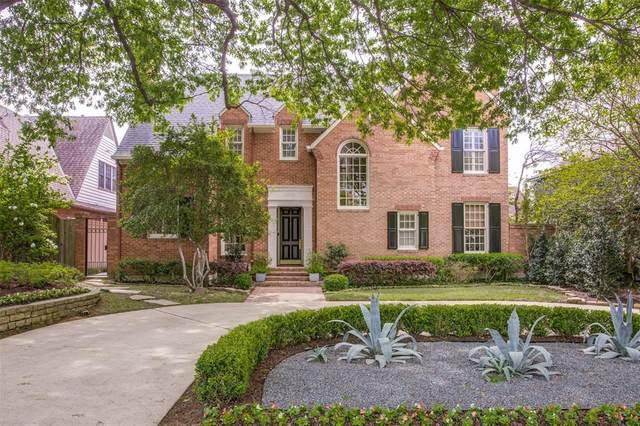 3535 University Boulevard, University Park, TX 75205 (MLS #14315296) :: Robbins Real Estate Group