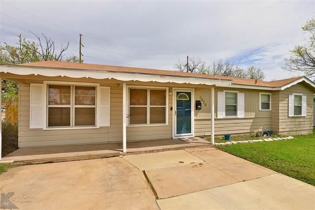 2826 S 39th Street, Abilene, TX 79605 (MLS #14315312) :: All Cities USA Realty