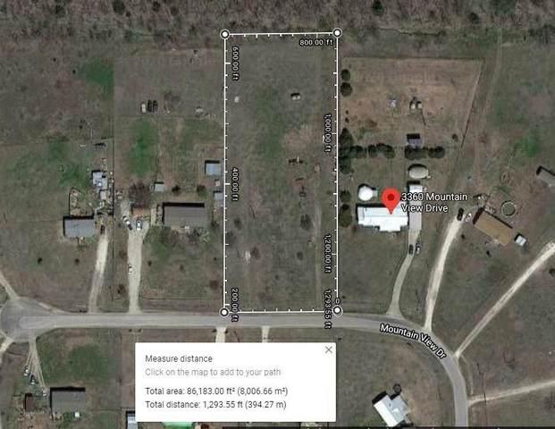 3350 Mountain View Drive, Venus, TX 76084 (MLS #14315331) :: The Good Home Team