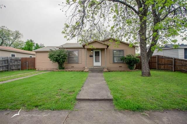 1917 Sewell Street, Abilene, TX 79605 (MLS #14315471) :: Real Estate By Design