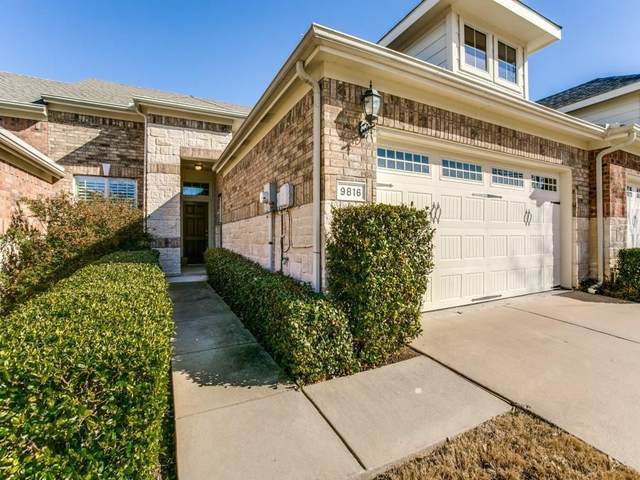 9816 Derwent Drive, Plano, TX 75025 (MLS #14315535) :: Tenesha Lusk Realty Group