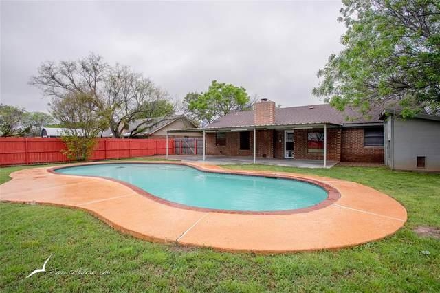 3017 Broken Bough Trail, Abilene, TX 79606 (MLS #14315608) :: Ann Carr Real Estate