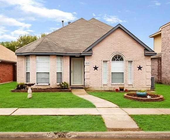 1408 Copper Meadow Drive, Mesquite, TX 75149 (MLS #14315932) :: Justin Bassett Realty