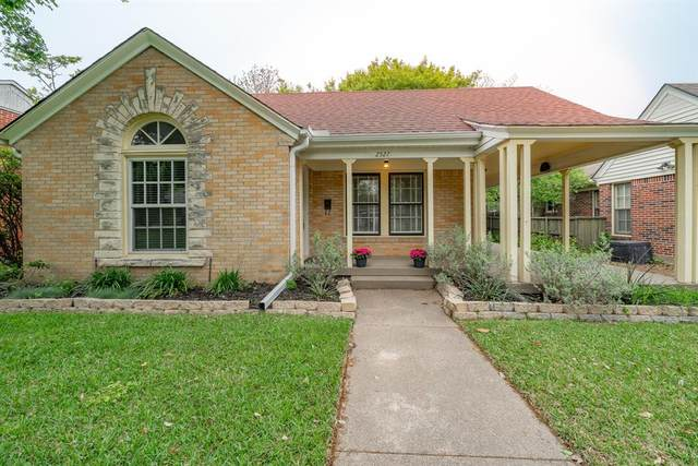 2527 Marvin Avenue, Dallas, TX 75211 (MLS #14316053) :: The Mitchell Group