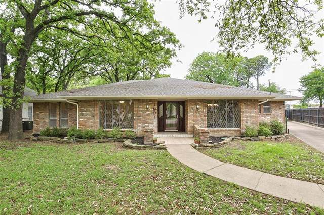 1901 Valley Oaks Court, Irving, TX 75061 (MLS #14316152) :: All Cities USA Realty