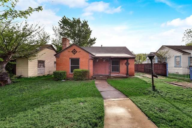 1318 S Marsalis Avenue, Dallas, TX 75216 (MLS #14316176) :: All Cities USA Realty