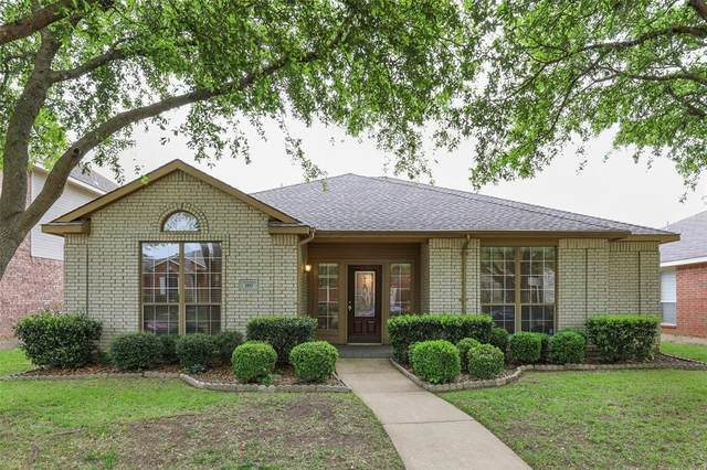 3817 Red Oak Trail, The Colony, TX 75056 (MLS #14316259) :: The Kimberly Davis Group
