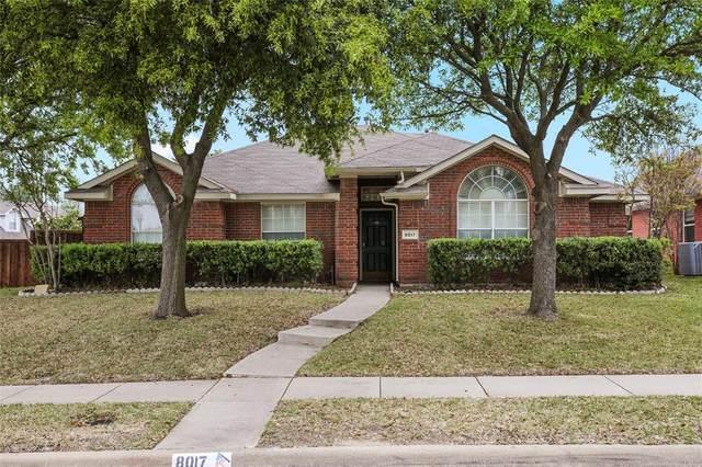 8017 Stern Street, Frisco, TX 75035 (MLS #14316281) :: Trinity Premier Properties