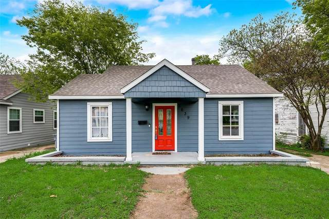 2639 W Clarendon Drive, Dallas, TX 75211 (MLS #14316585) :: The Hornburg Real Estate Group