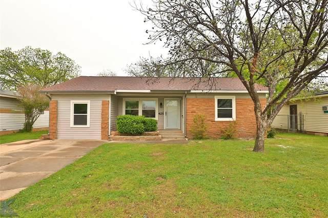 425 Fannin Street, Abilene, TX 79603 (MLS #14316592) :: Ann Carr Real Estate