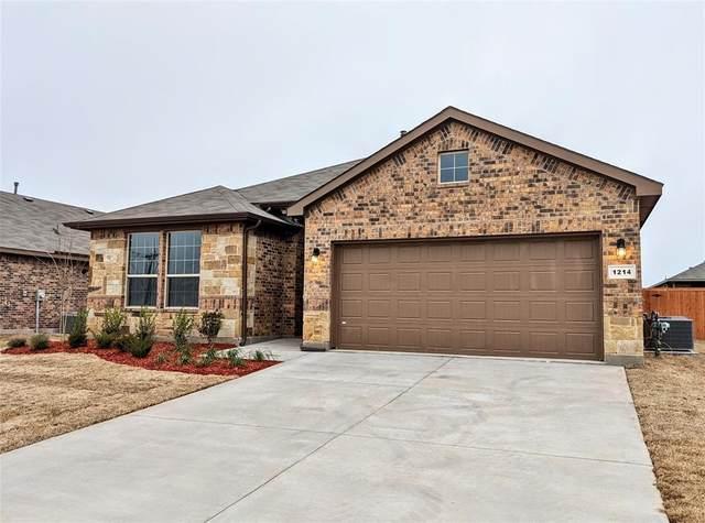 1214 Larkspur Lane, Cleburne, TX 76033 (MLS #14316859) :: Hargrove Realty Group