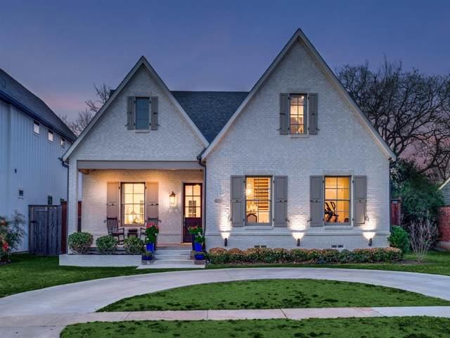 4137 Brunswick Drive, Dallas, TX 75220 (MLS #14316882) :: Trinity Premier Properties