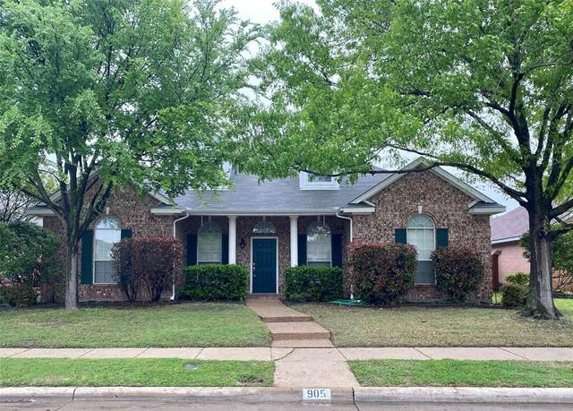 905 Wentwood Drive, Allen, TX 75002 (MLS #14316967) :: EXIT Realty Elite