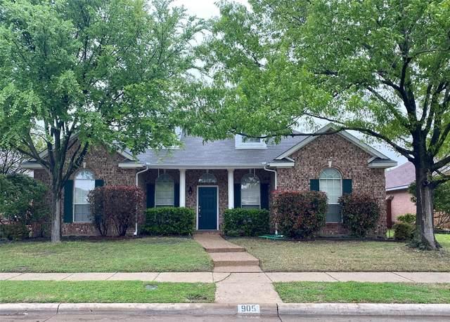 905 Wentwood Drive, Allen, TX 75002 (MLS #14316967) :: The Kimberly Davis Group