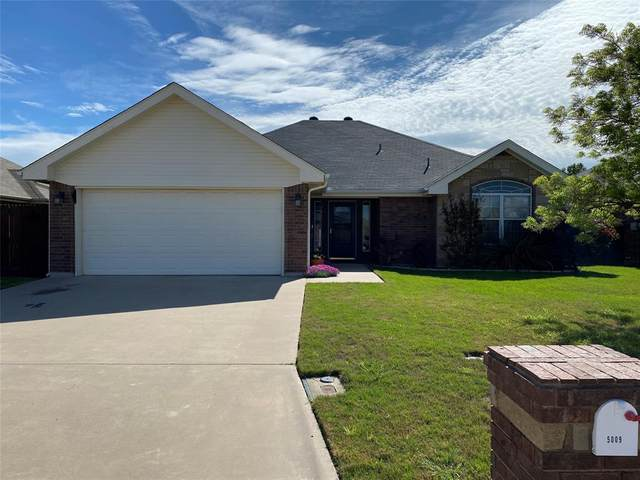 5009 Many Waters Drive, Abilene, TX 79602 (MLS #14316989) :: Ann Carr Real Estate