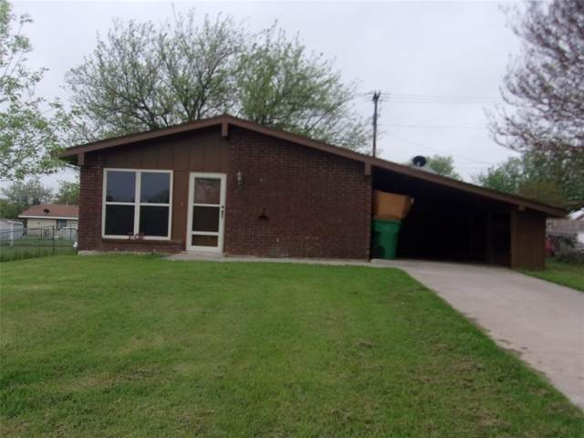 702 Decatur Street, Bowie, TX 76230 (MLS #14317294) :: All Cities USA Realty