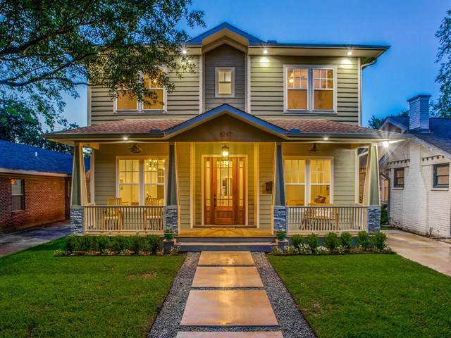 5247 Miller Avenue, Dallas, TX 75206 (MLS #14317312) :: The Hornburg Real Estate Group