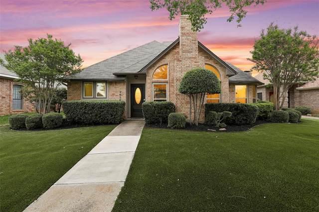 3634 Amanda Circle, Carrollton, TX 75007 (MLS #14317810) :: The Hornburg Real Estate Group