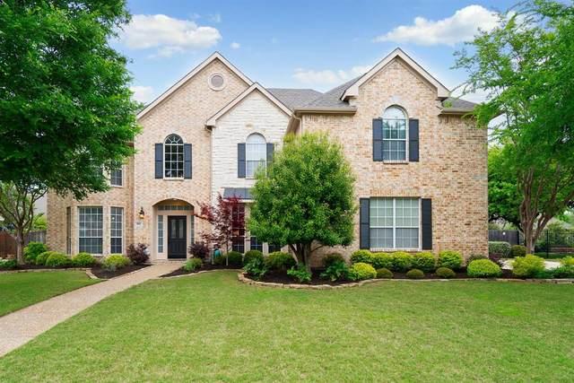 813 Shasta Lane, Keller, TX 76248 (MLS #14318383) :: Justin Bassett Realty
