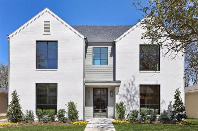 5723 W Hanover Avenue, Dallas, TX 75209 (MLS #14318510) :: North Texas Team | RE/MAX Lifestyle Property