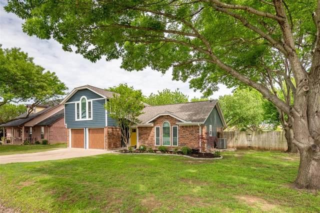 485 Ashley Lane, Roanoke, TX 76262 (MLS #14318966) :: Justin Bassett Realty
