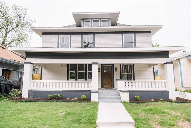1725 Alston Avenue, Fort Worth, TX 76110 (MLS #14319878) :: Bray Real Estate Group