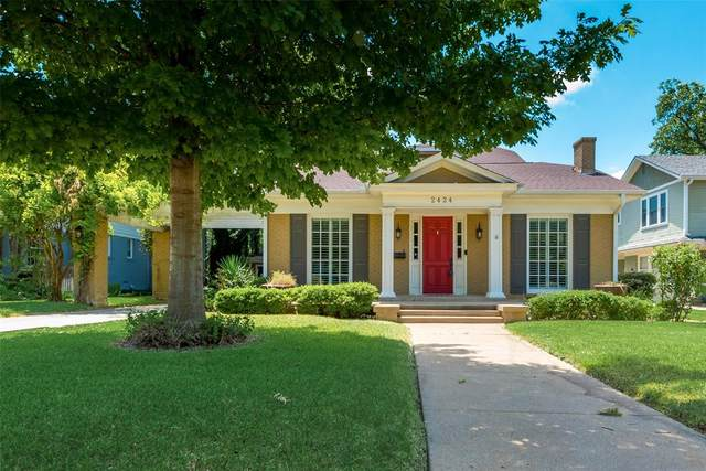 2424 Wabash Avenue, Fort Worth, TX 76109 (MLS #14323747) :: The Mitchell Group
