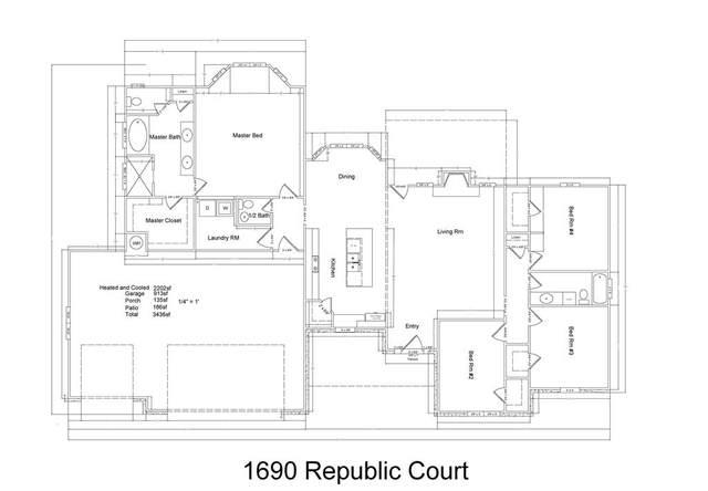 1690 Republic Court, Princeton, TX 75407 (MLS #14326672) :: The Heyl Group at Keller Williams