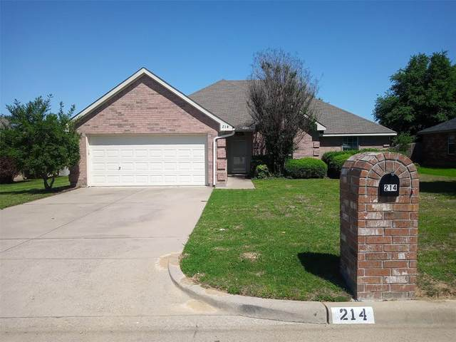 214 Whispering Dell Lane, Weatherford, TX 76085 (MLS #14327417) :: Potts Realty Group