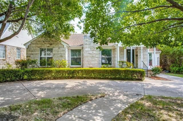 5214 Mccommas Boulevard, Dallas, TX 75206 (MLS #14330095) :: The Kimberly Davis Group