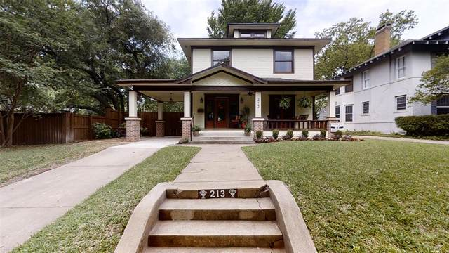 213 N Montclair Avenue, Dallas, TX 75208 (MLS #14330984) :: All Cities USA Realty