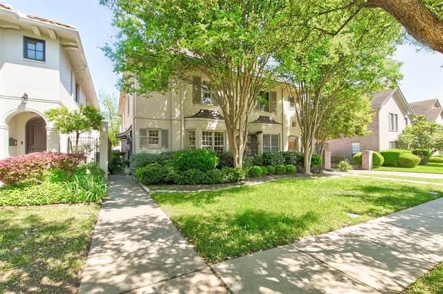 1217 Belle Place, Fort Worth, TX 76107 (MLS #14331596) :: Team Tiller