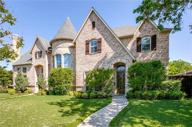 6405 Del Norte Lane, Dallas, TX 75225 (MLS #14332830) :: Frankie Arthur Real Estate