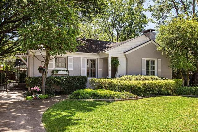 5610 Stanford Avenue, Dallas, TX 75209 (MLS #14334621) :: Robbins Real Estate Group