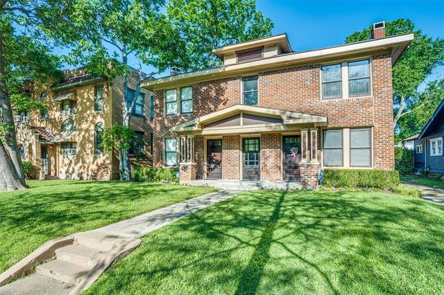 414 N Clinton Avenue B, Dallas, TX 75208 (MLS #14335031) :: All Cities USA Realty