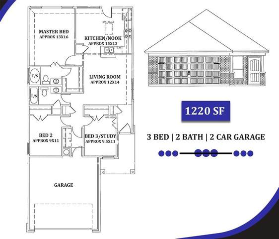 301 Ezell Street, Alvarado, TX 76009 (MLS #14336441) :: The Mauelshagen Group