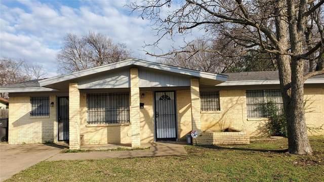 5441 Hensley Drive, Fort Worth, TX 76134 (MLS #14336644) :: NewHomePrograms.com LLC