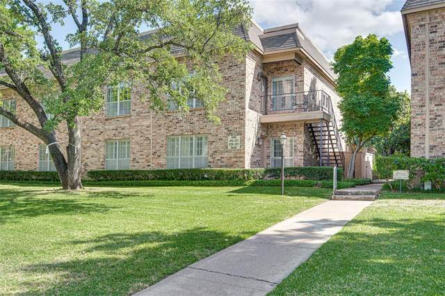 4401 Bellaire Drive S 126S, Fort Worth, TX 76109 (MLS #14337438) :: RE/MAX Pinnacle Group REALTORS
