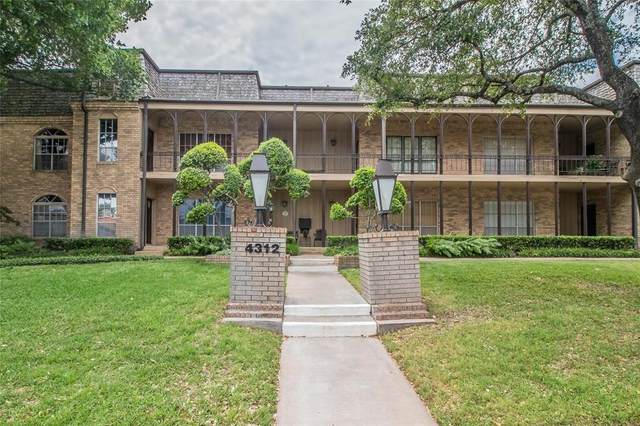 4312 Bellaire Drive S #122, Fort Worth, TX 76109 (MLS #14337974) :: The Heyl Group at Keller Williams