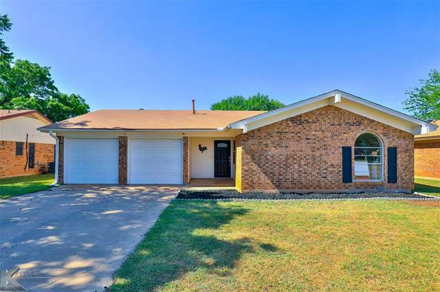 5434 Teresa Lane, Abilene, TX 79606 (MLS #14338387) :: Team Hodnett