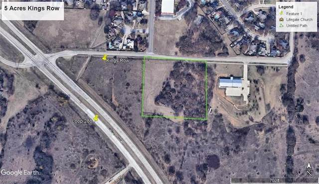 00 Kings Row, Denton, TX 76208 (MLS #14338831) :: Frankie Arthur Real Estate