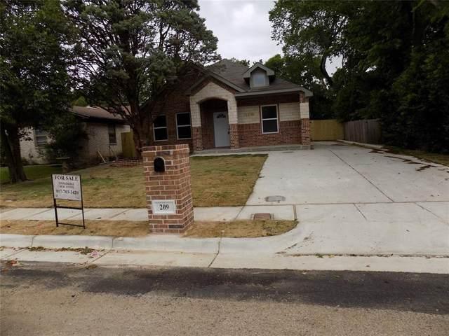 209 E Mason Street, Fort Worth, TX 76110 (MLS #14339248) :: North Texas Team | RE/MAX Lifestyle Property
